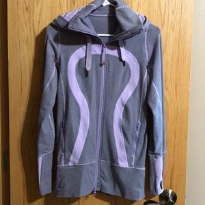 Lululemon purple Stride zip hoody jacket 4